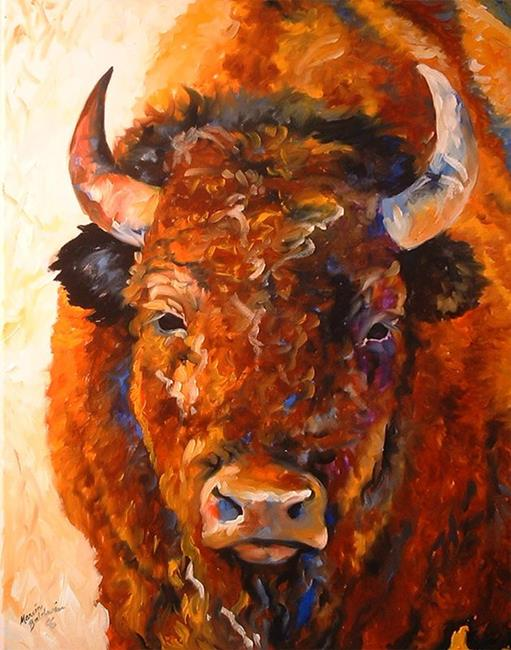 Art: SOUTHWEST BUFFALO by Artist Marcia Baldwin