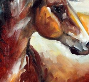 Detail Image for art STORMY ~ A MUSTANG