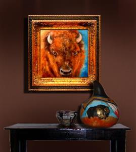Detail Image for art WILD WEST BUFFALO