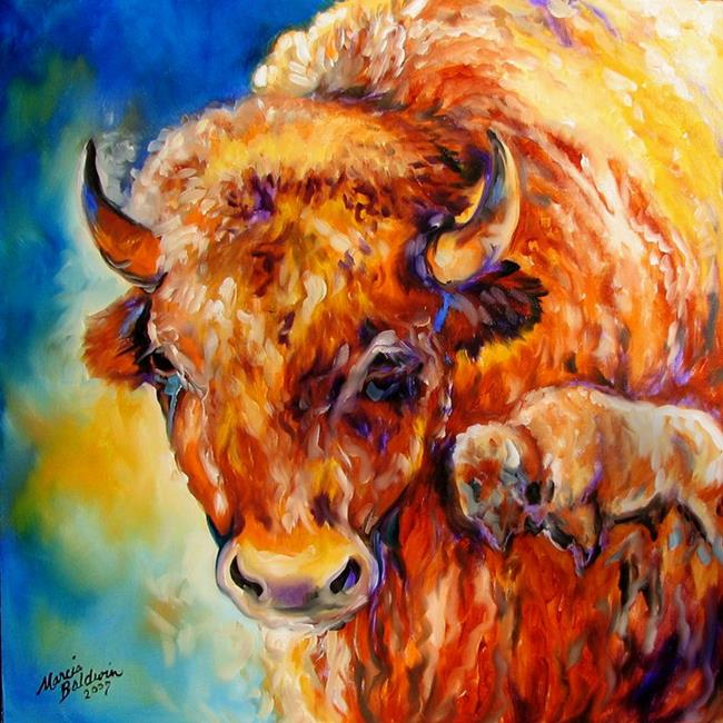 Art: BUFFALO WEST 07 by Artist Marcia Baldwin