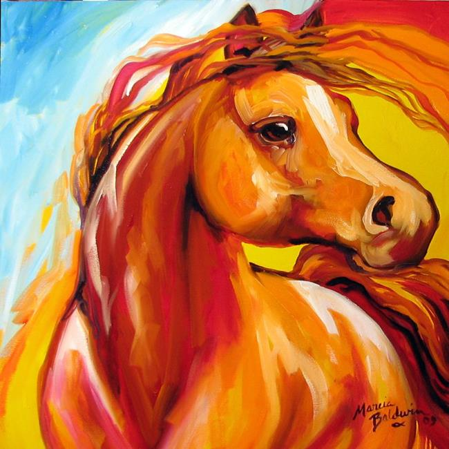 Art: SOUTHWEST STALLION by Artist Marcia Baldwin
