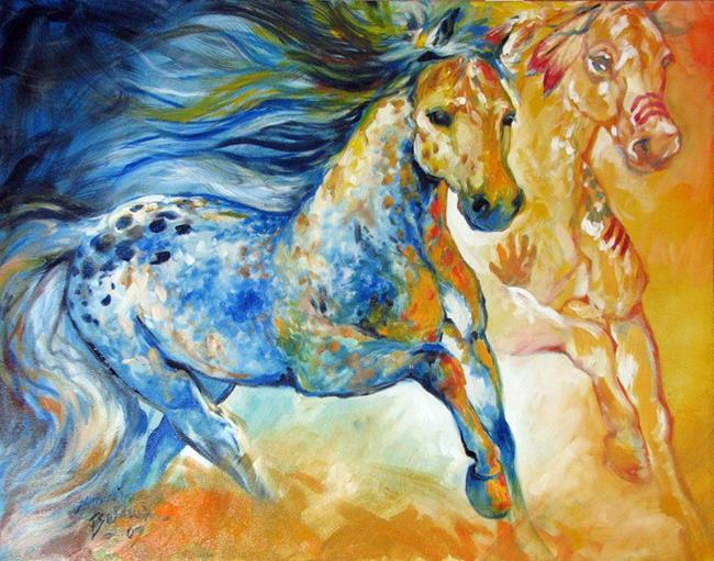 Art: KINDRED SPIRITS by Artist Marcia Baldwin