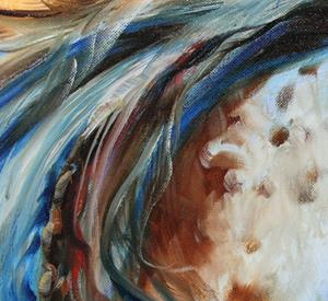 Detail Image for art THE GREAT ONE ~ INDIAN WAR HORSE