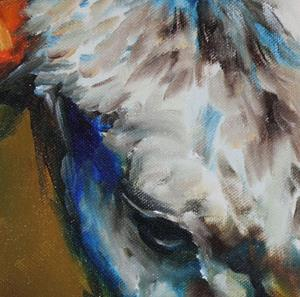 Detail Image for art TEXAS LONGHORN 18
