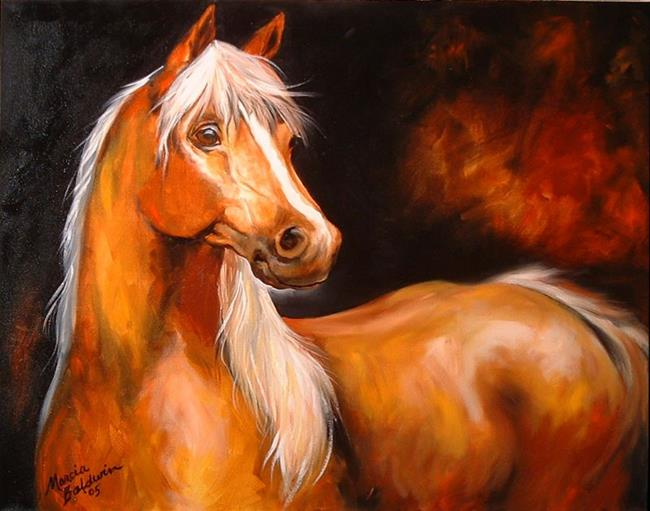 Art: SPIRIT MYSTICAL by Artist Marcia Baldwin