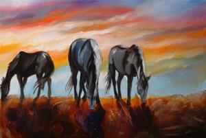 Detail Image for art SPIRIT GRAZING