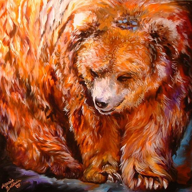 Art: KODIAK by Artist Marcia Baldwin