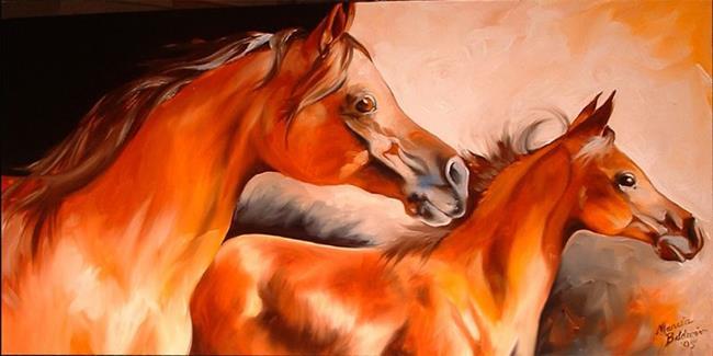 Art: SPIRIT ARABIAN by Artist Marcia Baldwin