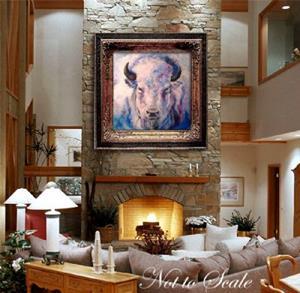 Detail Image for art WHITE BUFFALO
