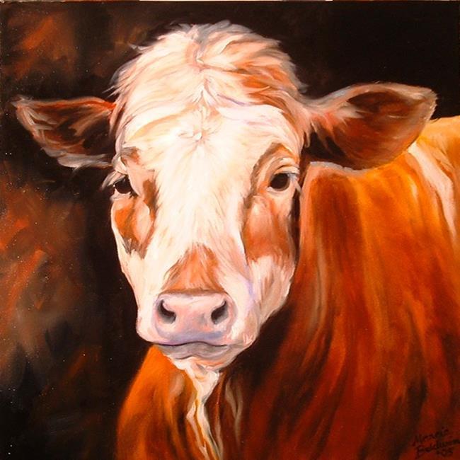 Art: COW PRIDE by Artist Marcia Baldwin