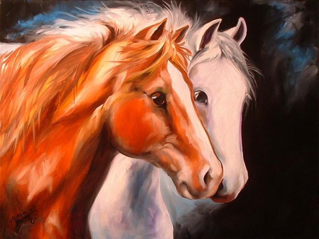 Art: SPIRIT BOND by Artist Marcia Baldwin
