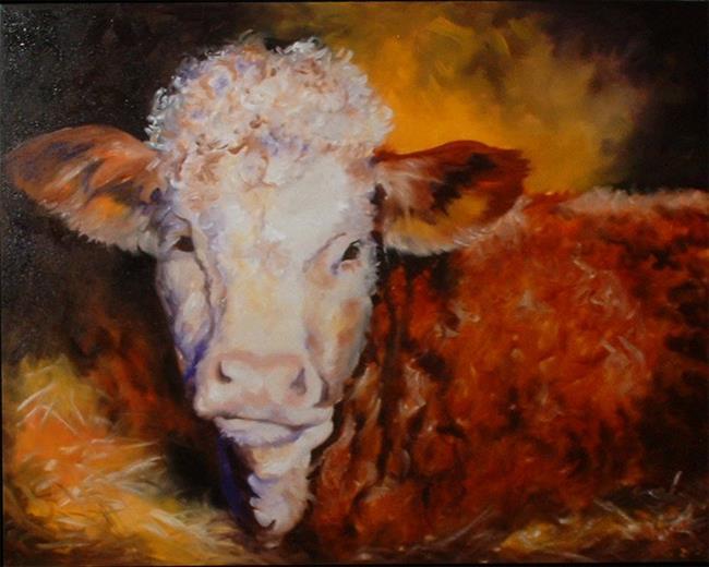Art: The Prize Winner by Artist Marcia Baldwin