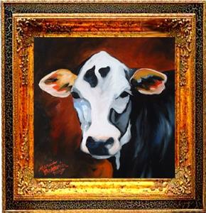 Detail Image for art Cow Envy - SOLD to Private Collection April 2005
