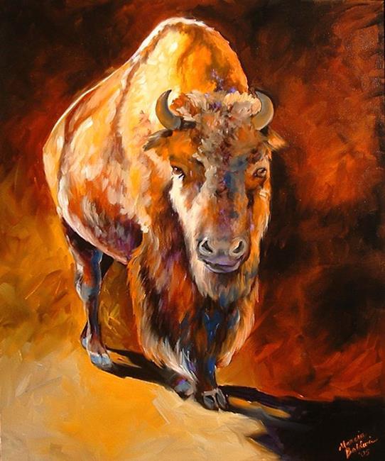 Art: Buffalo II by Artist Marcia Baldwin