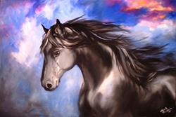 Art: Spirit MidNight by Artist Marcia Baldwin
