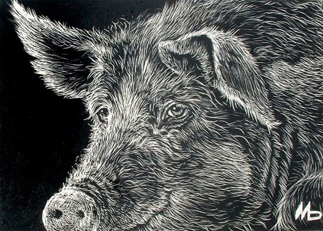 Art: This Little Piggy by Artist Marcia Baldwin