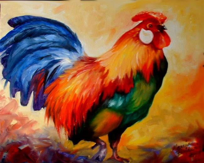 Art: Rooster Rick by Artist Marcia Baldwin
