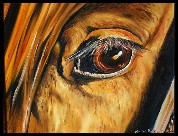 Art: Eagle Eye by Artist Laurie Justus Pace