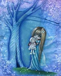 Art: Fairy Little Lamb by Artist Sour Taffy