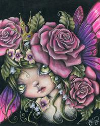 Art: Spring Queen by Artist Sour Taffy