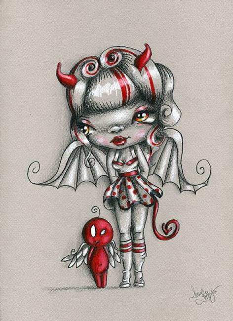 Art: Devil Doll by Artist Sour Taffy