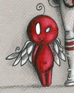 Detail Image for art Devil Doll