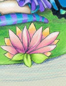 Detail Image for art Lotus Blossom