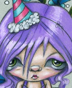 Detail Image for art Party Doll