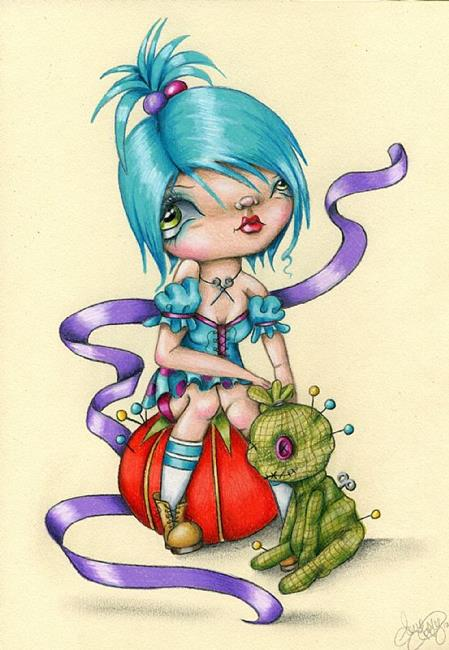Art: The Dollmaker by Artist Sour Taffy