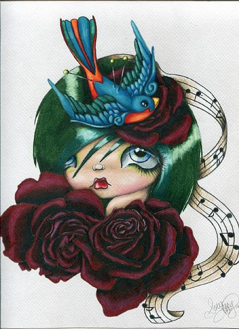 Art: Songbird by Artist Sour Taffy