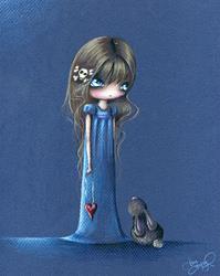 Art: A Sapphire Song by Artist Sour Taffy