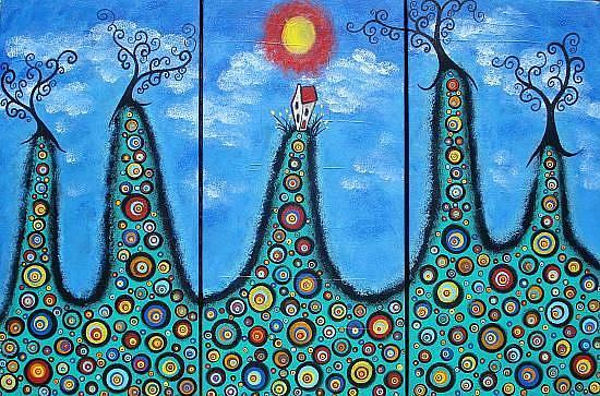 Art: Living On The Edge by Artist Juli Cady Ryan