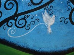 Detail Image for art Peace Flew In On Silent Wings