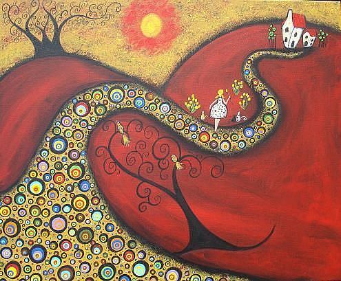 Art: The Glorious Walk by Artist Juli Cady Ryan