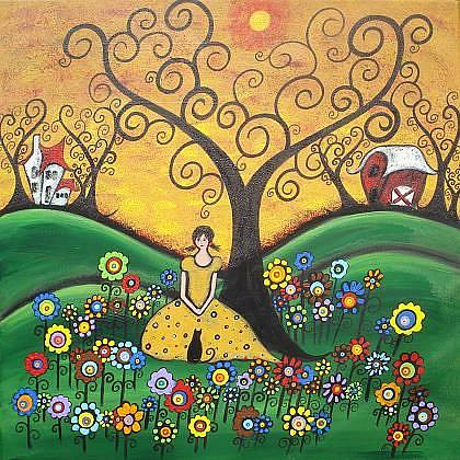 Art: Meadow Dreams by Artist Juli Cady Ryan