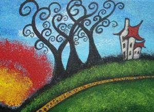 Detail Image for art The Long Road Home