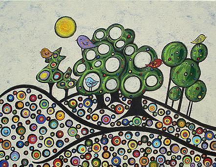 Art: A Little Rainbow by Artist Juli Cady Ryan