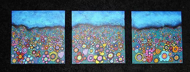 Art: Bountiful Blooms II by Artist Juli Cady Ryan