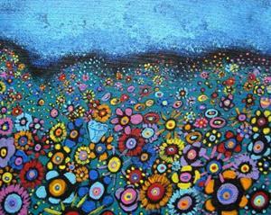 Detail Image for art Bountiful Blooms II