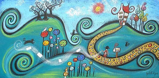Art: News Lost by Artist Juli Cady Ryan