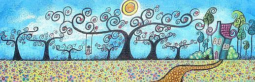 Art: The Magical Summer by Artist Juli Cady Ryan