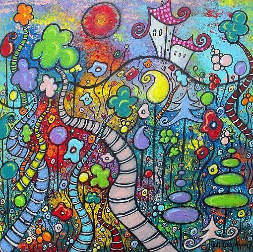 Art: The Magic Overlook by Artist Juli Cady Ryan