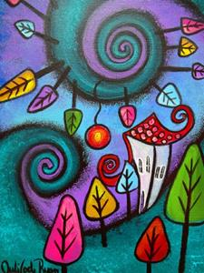 Detail Image for art The Fanciful Forest