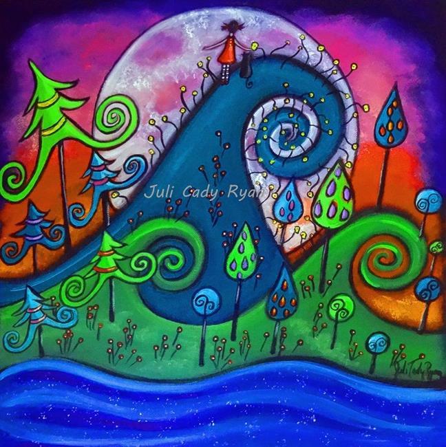 Art: The Destination by Artist Juli Cady Ryan