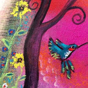 Detail Image for art Magic in the Meadow II