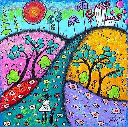 Art: Coming Home by Artist Juli Cady Ryan
