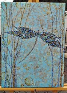 Detail Image for art Be the Change You Wish to See in Your World - Sold