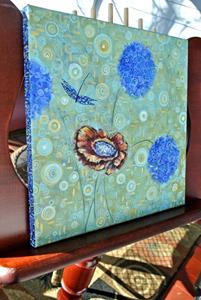 Detail Image for art A Swirl Around the Garden - Sold