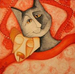 Art: My Valentine by Artist Deb Harvey
