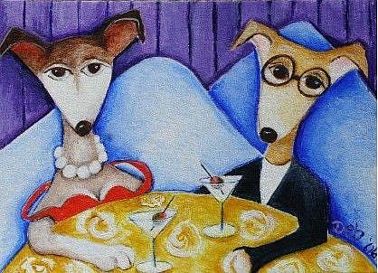 Art: Blind Date by Artist Deb Harvey